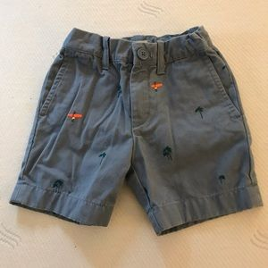 CrewCuts Embroidered Shorts.